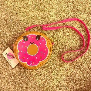 Betsey Johnson donut purse